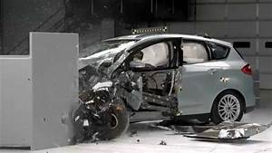 Ford C Max 2014 : iihs 2014 ford c max hybrid small overlap crash test acceptable evaluation youtube ~ Medecine-chirurgie-esthetiques.com Avis de Voitures