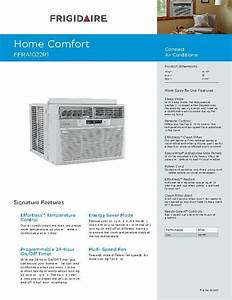 Frigidaire Air Conditioner Installation Manual