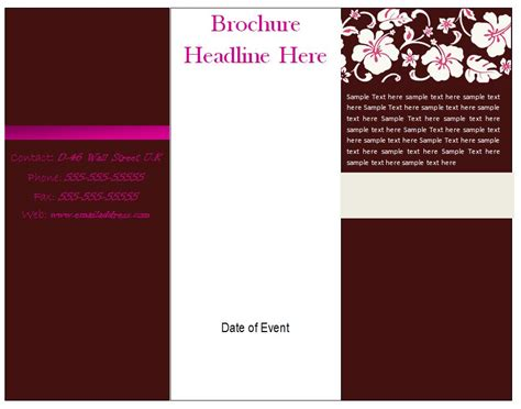 brochure templates   commercewordpress