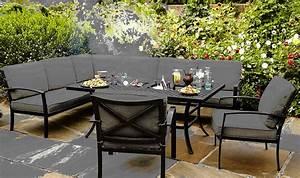 hartman 3tlg eckbank sofa jamie oliver gartenbank alu art With französischer balkon mit jamie oliver garten