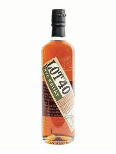 Lot No  40 Single Copper Pot Still Canadian Whisky