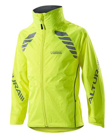 yellow cycling jacket altura night vision cycling jacket kids yellow ebay