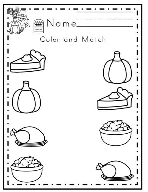 preschool printables thanksgiving printable no prep preschool printables thanksgiving printable no prep