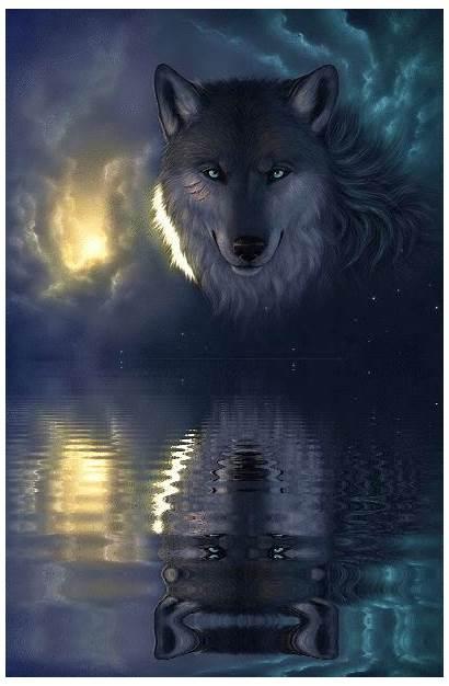 Power Spiritual Spirit Animal Wolf Native Animals