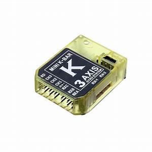 Kbar V2 5 3 4 Pro K8 3 Axis Gyro Flybarless System