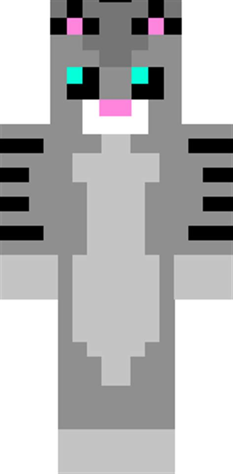 minecraft skins cat grey kitty skin minecraft skins