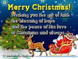 10 Free Merry Christmas Cards and E-cards - Random Talks