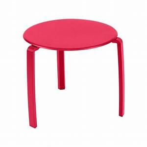 Table Basse Rose : table basse alize rose praline de fermob ~ Teatrodelosmanantiales.com Idées de Décoration