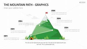 Powerpoint Template Mountain    Charts And Graphics