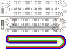Cribbage Board Template Choice Image Free Templates Ideas