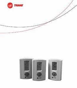 Trane Thermostats Thermostat Installation And Operation