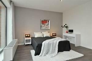 decoration de chambre 55 idees de couleur murale et tissus With decoration des chambre a coucher