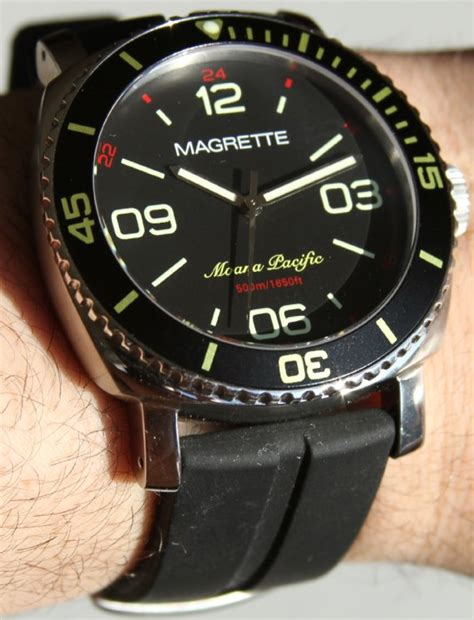Magrette Moana Pacific Diver Watch Review  Ablogtowatch. Pear Engagement Rings. Cable Bangles. Model Gold Necklace. Real Seashell Necklace. Gold Bangle Bracelet With Clasp. Where To Buy Bangle Bracelets. Toe Anklet Bracelet. Stylish Necklace