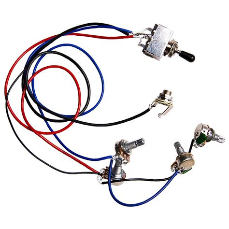 Guitar Wiring Harness Kit Way Switch Ffor