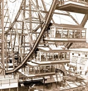 Image result for 1893 - The Ferris Wheel was introduced at the World's Columbian Exposition