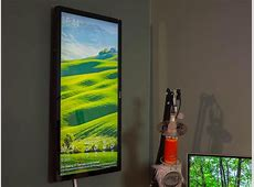 Make a DIY wall display with an old monitor and Raspberry