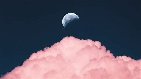 aesthetic moon wallpapers  images wallpaperboat