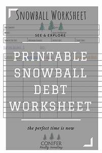 Pay Off Debt Calculator Free Debt Snowball Method Debt Snowball Worksheet Debt