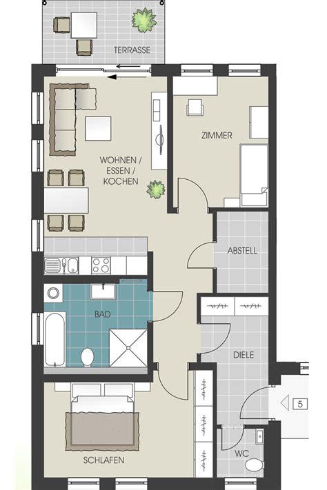 Fertighaus 4 Wohnungen by Grundrisse Und Kaufpreise Der Wohnungen Und Garagen