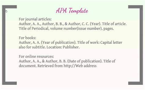 essay cite apa format citation