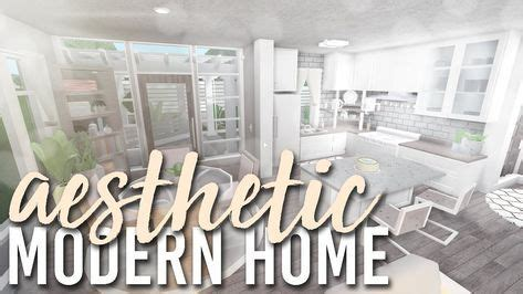 aesthetic modern home  bloxburg build alixia youtube   sims house design