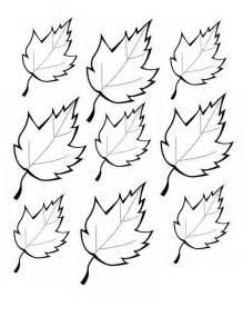 printable leaves printables