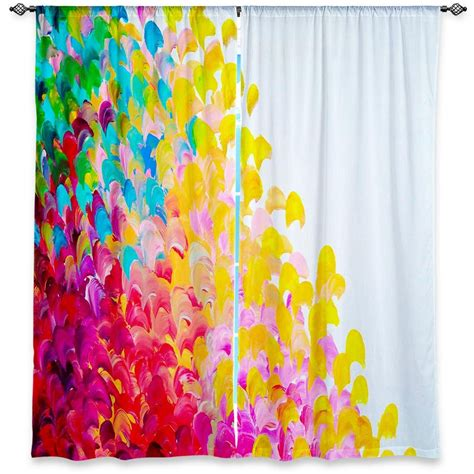 bright colorful kitchen curtains colorful window curtains sizes abstract 4906