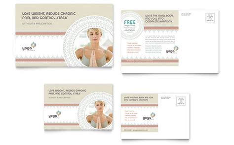 yoga instructor graphic designs templates
