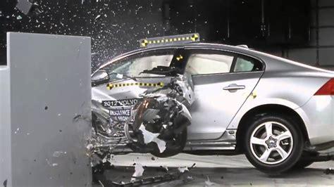 iihss  overlap frontal crash test volvo