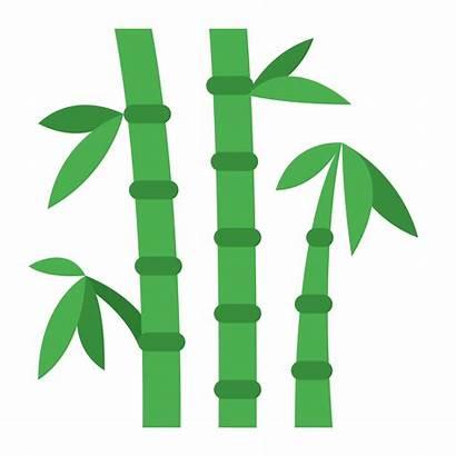 Bamboo Clipart Leaf Transparent Clip Frame Tree