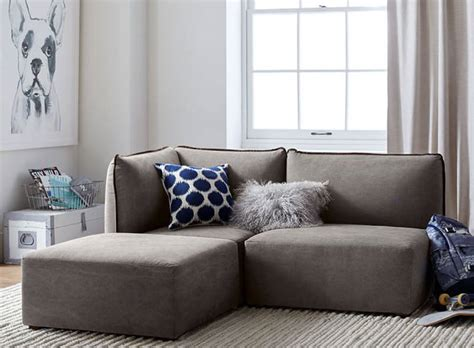 apartment sofas  small sectionals  cozy