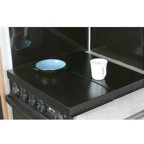 camco stove top cover black universal fit walmart com