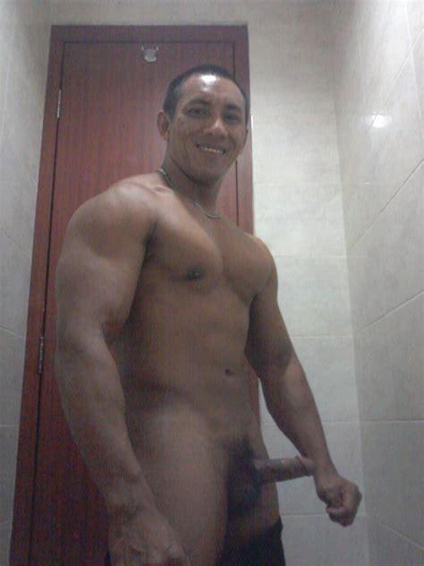 Nude Pose Indonesian Bodybuilder Far Zack Na 44136
