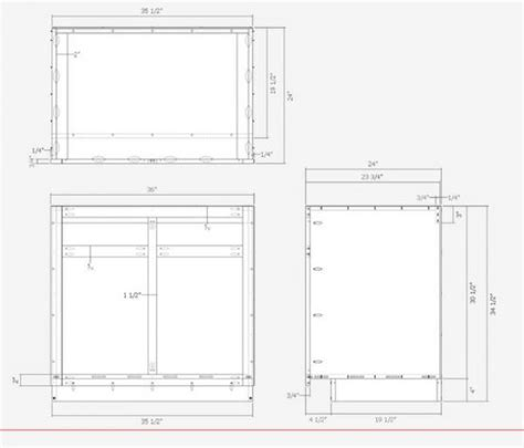 kitchen cabinet detail kitchen cabinets the engineer s way finewoodworking 2464