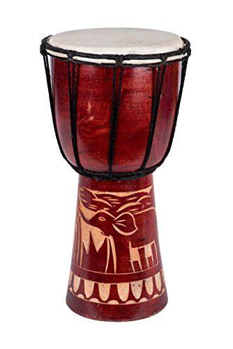 30cm profi djembe trommel kinder bongo giraffe guter klang
