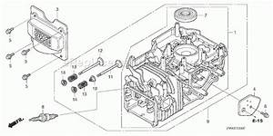Honda Gcv160 Engine Parts Diagram