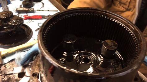 rebuild final drive motor mini excavator travel motors youtube