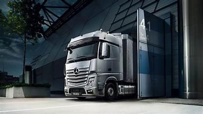 Truck Actros Mercedes 4k Benz Wallpapers Trucks