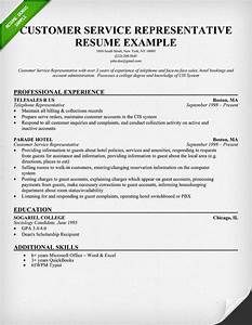 Example Resume Example Resume Customer Service Rep