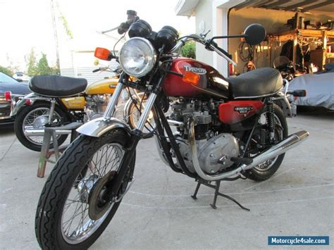 1982 Triumph Bonneville For Sale In Canada