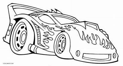 Coloring Wheels Pages Cars Printable