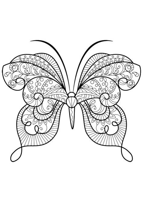 disegni da colorare con i numeri per adulti insetti 92136 farfalle e insetti disegni da colorare per