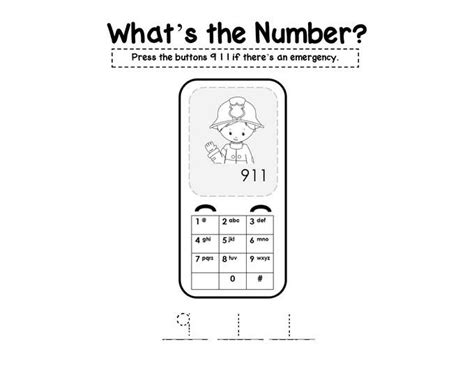 what s a template preschool safety booklet printables