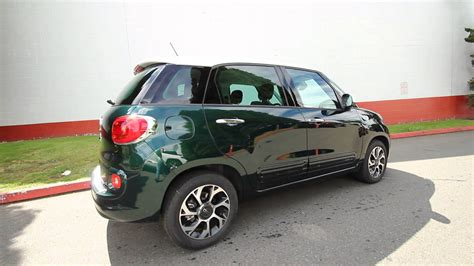 2014 Fiat 500l Easy by 2014 Fiat 500l Easy Forest Green Stk Ez001864 Rairdon S