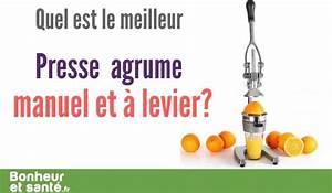 Presse Agrume Manuel A Levier : quel est le meilleur presse agrume manuel et levier bonheur et sant ~ Melissatoandfro.com Idées de Décoration