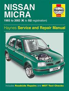 Haynes Manual Nissan Micra  1993