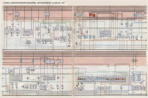 audi  schematic wiring diagram sar  manual wiring