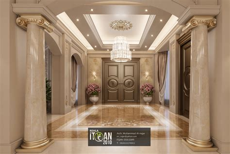 luxuy classic main hall villa united arab emirates