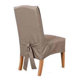 sure fit cotton duck short dining room chair sli target