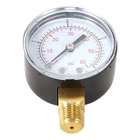 water pressure meter 50mm manometer pool filter water pressure hydraulic 3360